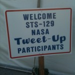 Nasa TweetUp Sign